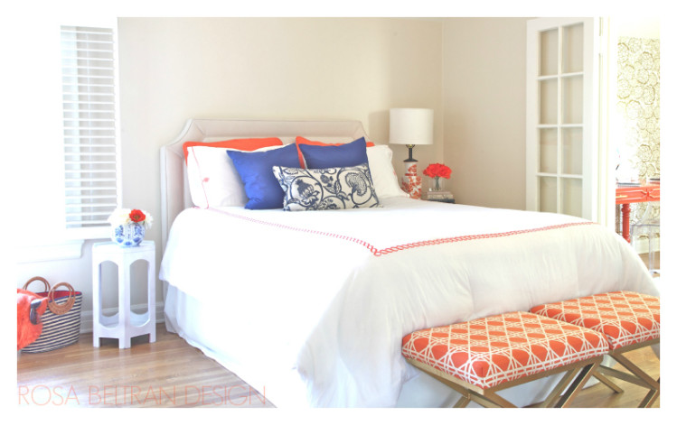 ORANGE-BLUE-BEDROM